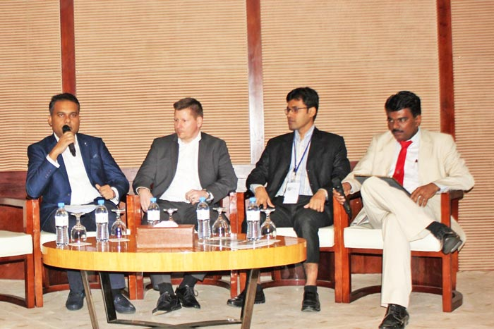 Figure 4: Amanur Rahman, Managing Director of Dycin, was deliberating at the panel discussion on 'Compliance in Certification'.