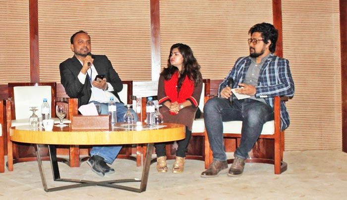 Figure 7: Tareq Amin, Editor and Publisher Textile Today was moderating the third panel discussion.