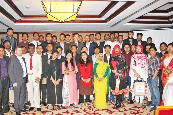 Figure 1: Distinguished guests and participants were present at SDC conference.
